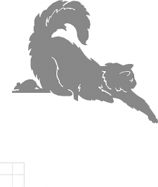 Флюгер. Кот