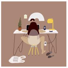 Иллюстрация для личного блога