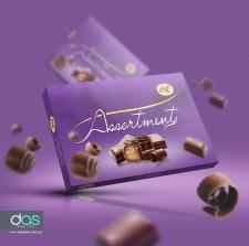 Дизайн упаковки конфет Ассорти