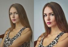 Ретушь портретной фотографии