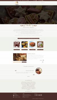 Дизайн для сайта продажи пряников