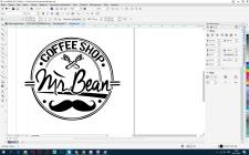 Отрисовка логотипа (реальный заказ)