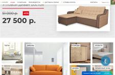 Наполнение товаром магазина мебели CMS OpenCart