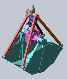 Проект двухканатного грейфера