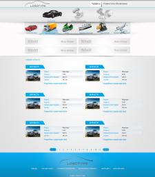 Дизайн внутреней страницы сайта