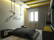 Спальня в стилі LOFT