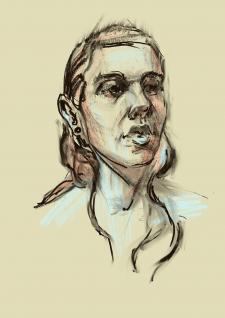 Диджитл портрет