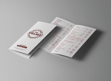 Буклеты для ресторана «The Village»