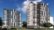 Эскизный проект многоэтажных жилых домов