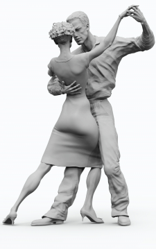 "Скульптурная композиция ""Танец"""