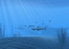 Моделирование подводного мира для мобильной игры