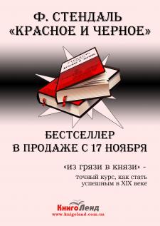 Флаер для продажи книги