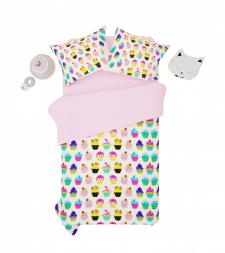 Визуализация детского постельного белья