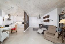 Интерьерная фотосъемка дизайна квартиры в Киеве
