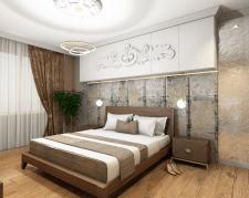 Дизайн-проект главной спальни