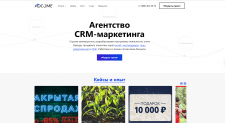 Агенство маркетинга (CMS Wordpress)