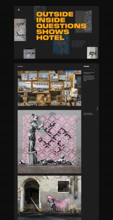 Banksy Site Concept