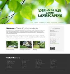 Сайт под ключ - ландшафтный дизайн