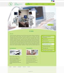 Сайт по диагностике (узи). V1