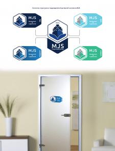 Лого MJS и структурных подразделений