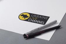 логотип для Ukraine live channel
