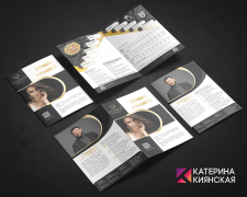 Дизайн буклета Ethniq Finance