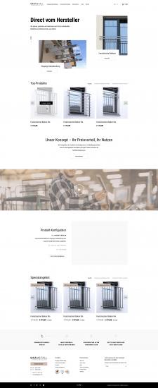 Главная для производителя металоконструкций