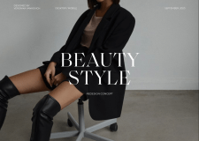 Beauty style: e-commerce redesign concept