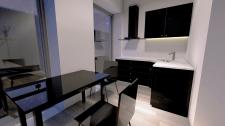 Кухня. Дизайн интерьера апартаментов гостиницы