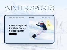 Интернет-магазин зимнего спортивного снаряжения
