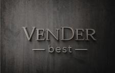Логотип и дизайн вывески для магазина VenDer.best
