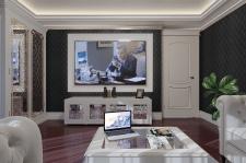 3D Визуализация гостиной г. Киев