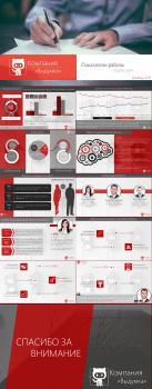 Шаблон бизнес-презентации