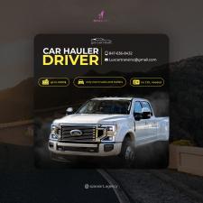 Рекламный баннер для привлечения новых водителей