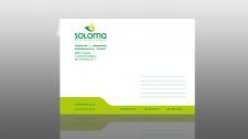 Конверт для компании Солома