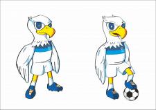 Иллюстрация талисмана для Сборной КР по футболу