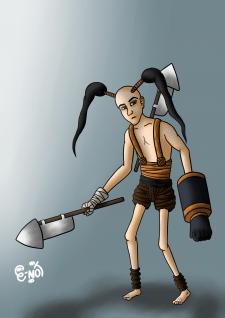 Рисовка персонажа