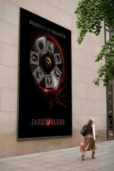 Реклама серии книг про джаз исполнителей