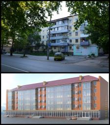 Реконструкция жилого дома в г.Симферополь