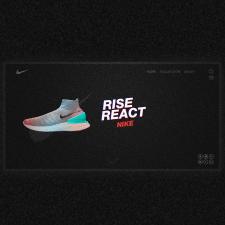 Концепт сайта для Nike