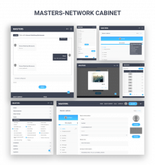 "Cabinet Of Masters Platform ""Masters-Network"""