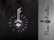 Разработка лого для муз.проекта Flame & Fireflies
