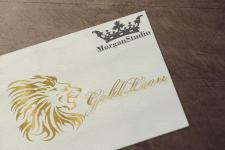 Логотип. Золотой лев. Gold Leon