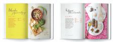 Дизайн разворота + верстка кулинарной книги