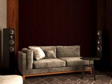 Дизайн и визуализация Гостиной в частный дом.