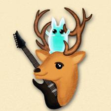 Музыкальный олень