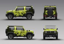 car wrap design Info Car (Suzuki JIMNY)