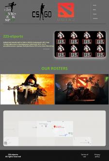 CyberSport team fan-site