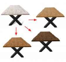 Замена цвета древесины