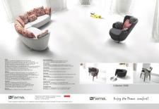 Рекламная страница в журнале ДОМ